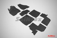 Резиновый коврик Seintex с бортиком для Ford EXPLORER V (V=3,5l) 7 мест 2010-2015