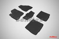 Резиновый коврик Seintex с бортиком для Ford EXPLORER V (V<3,5l) 2010-2015