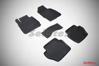 Резиновый коврик Seintex с бортиком для Ford FIESTA IV 2008-2015