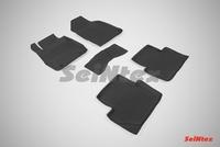 Резиновый коврик Seintex с бортиком для Ford FIESTA V 2015-