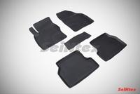 Резиновый коврик Seintex с бортиком для Ford FOCUS II 2008-2011