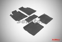 Резиновый коврик Seintex с бортиком для Geely Emgrand 2013-