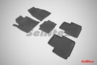 Резиновый коврик Seintex с бортиком для Haval H2 2015-