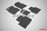 Резиновый коврик Seintex с бортиком для Haval H6 2015-
