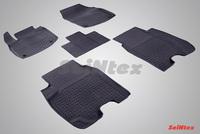 Резиновый коврик Seintex с бортиком для Honda CIVIC IX 5D 2012-