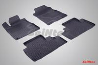 Резиновый коврик Seintex с бортиком для Honda CR-V IV 2012-