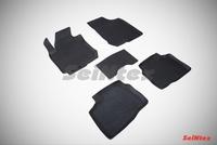 Резиновый коврик Seintex с бортиком для Hyundai ELANTRA IV 2006-2011