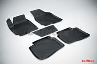 Резиновый коврик Seintex с бортиком для Kia CERATO 2009-2013