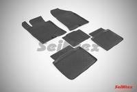 Резиновый коврик Seintex с бортиком для Kia OPTIMA III 2010-2015