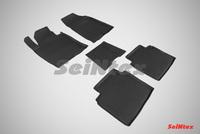 Резиновый коврик Seintex с бортиком для Kia OPTIMA IV 2015-