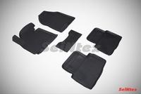 Резиновый коврик Seintex с бортиком для Kia SPORTAGE III 2010-2015