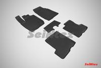 Резиновый коврик Seintex с бортиком для Lada X-Ray 2016-