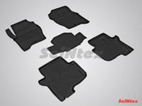 Резиновый коврик Seintex с бортиком для Land Rover DISCOVERY IV 2009-2017