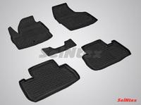 Резиновый коврик Seintex с бортиком для Land Rover FREELANDER II 2006-