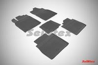Резиновый коврик Seintex с бортиком для Lexus ES VI 2012-