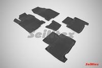 Резиновый коврик Seintex с бортиком для Lexus NX 2014-
