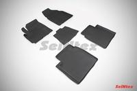 Резиновый коврик Seintex с бортиком для Lifan X60 2013-