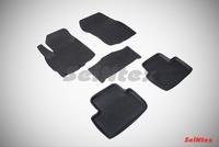 Резиновый коврик Seintex с бортиком для Mitsubishi ASX 2010-