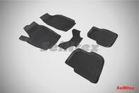 Резиновый коврик Seintex с бортиком для Nissan JUKE 2011-