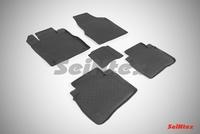 Резиновый коврик Seintex с бортиком для Nissan MURANO II 2008-2015