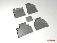 Резиновый коврик Seintex с бортиком для Nissan MURANO III 2016-