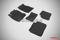 Резиновый коврик Seintex с бортиком для Nissan NOTE 2005-2014