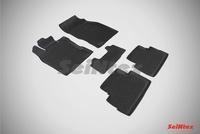 Резиновый коврик Seintex с бортиком для Nissan QASHQAI II (японская) 2014-2016