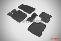 Резиновый коврик Seintex с бортиком для Nissan TERRANO III 2014-