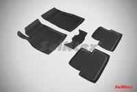 Резиновый коврик Seintex с бортиком для Opel ASTRA J 2010-