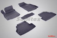Резиновый коврик Seintex с бортиком для Opel MOKKA 2012-