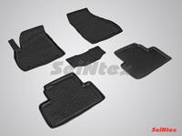 Резиновый коврик Seintex с бортиком для Opel ZAFIRA C 2012-