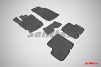 Резиновый коврик Seintex с бортиком для Renault DUSTER (рест.) 2015-