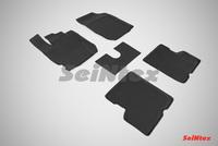 Резиновый коврик Seintex с бортиком для Renault Kaptur 4WD 2016-