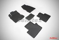 Резиновый коврик Seintex с бортиком для Renault KOLEOS 2011-