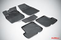 Резиновый коврик Seintex с бортиком для Renault SANDERO 2010-2014