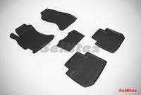 Резиновый коврик Seintex с бортиком для Subaru FORESTER IV 2012-