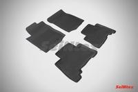 Резиновый коврик Seintex с бортиком для Toyota LAND CRUISER PRADO150 2009-2013