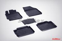 Резиновый коврик Seintex с бортиком для Toyota CAMRY VII 2012-2018