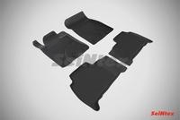 Резиновый коврик Seintex с бортиком для Toyota LAND CRUISER 200 2012-
