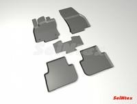 Резиновый коврик Seintex с бортиком для Volkswagen TIGUAN II 2017-