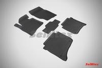 Резиновый коврик Seintex с бортиком для Volkswagen TOUAREG II 2010-