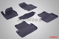 Резиновый коврик Seintex с бортиком для Volvo XC-90 2002-2014