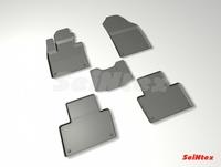 Резиновый коврик Seintex с бортиком для Volvo XC-90 II 2014-