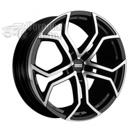 Fondmetal 9XR 9*20 5/120 ET45 d74,1 Black Polished