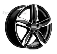 Fondmetal Hexis 8*18 5/112 ET48 d57,1 Black Glossy Machined
