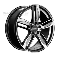 Fondmetal Hexis 8*18 5/112 ET29 d66,5 Titanium Glossy Machined