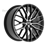 Fondmetal Makhai 9*21 5/112 ET25 d66,5 Black Glossy Machined