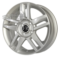FR Replica NS677 6*15 4/100 ET50 d60,1 silver