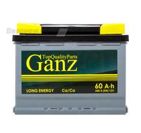 Аккумулятор GANZ 60 А/ч прямая EN 540А 242x175x190