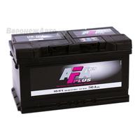 Аккумулятор AFA PLUS 80 А/ч обратная R+ EN 740A 315x175x175